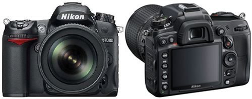 Nikon D7000 Front and Back