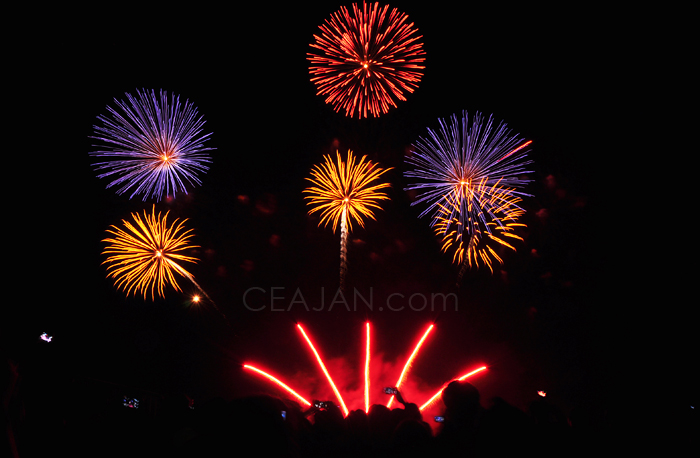 2nd Philippine International Pyromusical Competitor from South Korea